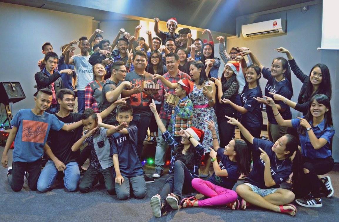 Infinite Youth Christmas celebrations