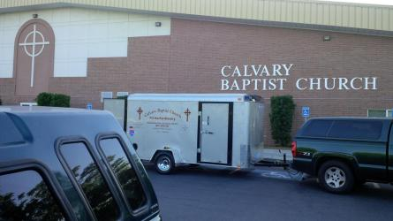 2015 Fill the Pot Ministry Trailer at the Door