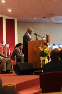 Pastor France A. Davis