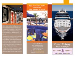 Camp Calvary Brochure - Outside