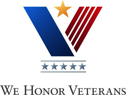 We Honor Veterans Level 5 logo