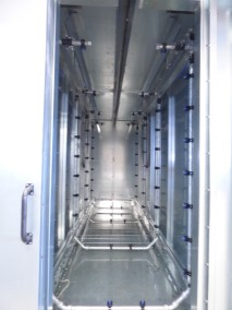 photo d'un tunnel de dégraissage - Société Calvet