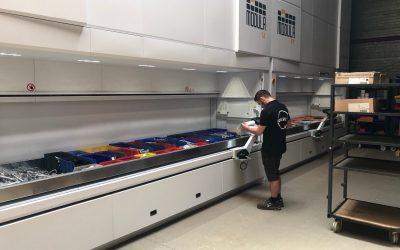 Armoires de stockage automatisées MODULA