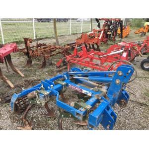 cadre à ressort bleu labourrage vigne calvet matériel d'occasion