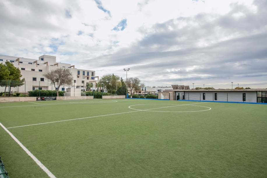 Instalaciones deportivas de Calvià - Zona deportiva Son Caliu (futbol 7, pista multideporte y calistenia)