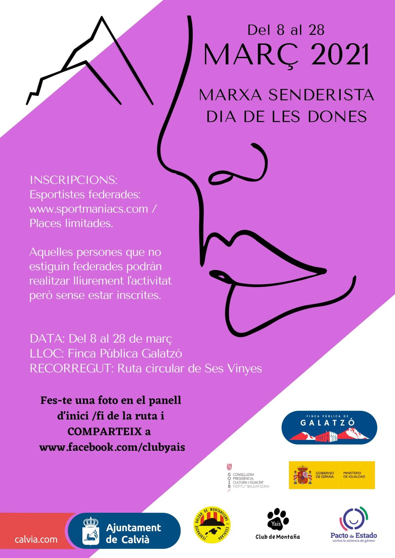 MARXA SENDERISTA DIA DE LES DONES