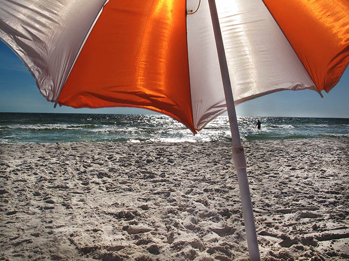 Umbrella, Mexico Beach, FL