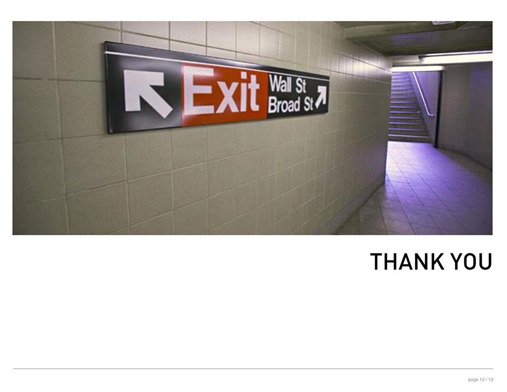 Commute Exit