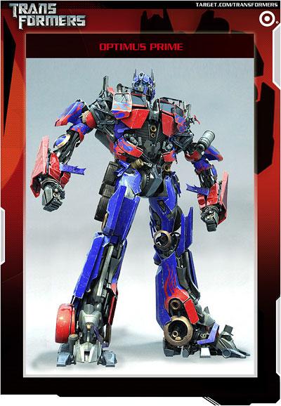 Transformers Target Website