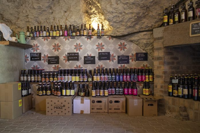 french wine cave