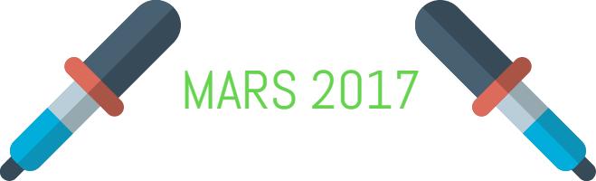 Actualités calvitie : Mars 2017