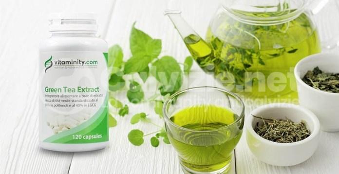 integratore tè verde