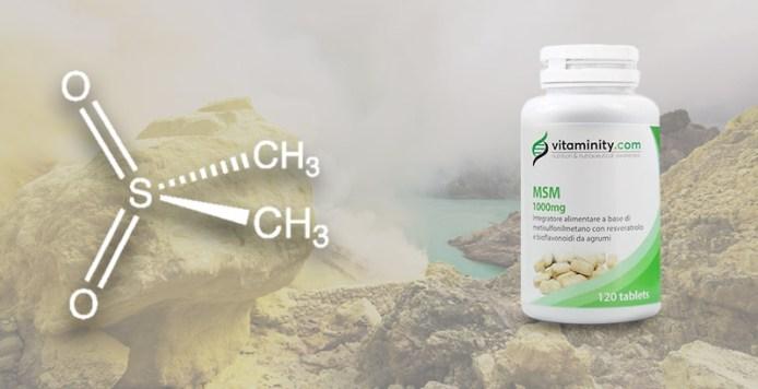 MSM antiossidanti