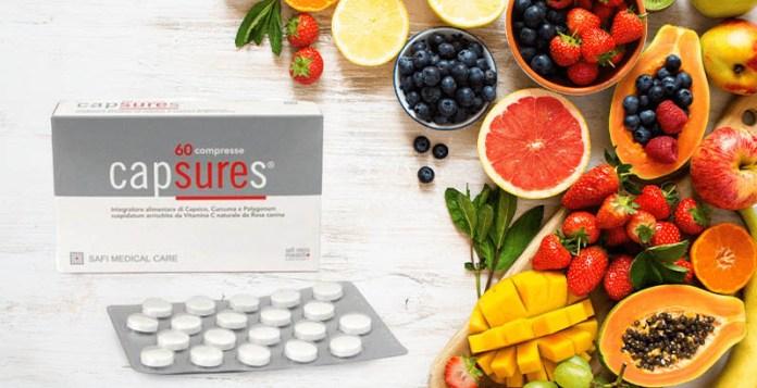 capsures antiossidanti integratore