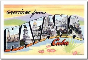 Havana Cuba postcard