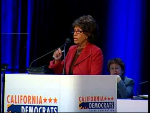 Assemblyman Defends Maxine Waters