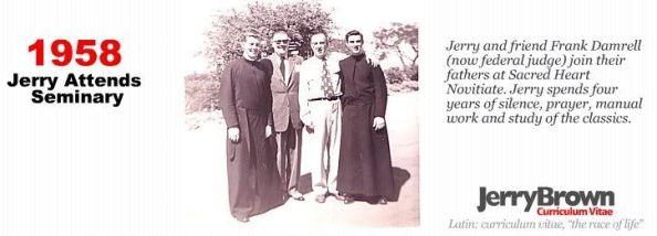 Jerry Brown seminarian