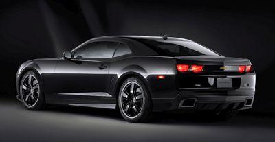 Chevrolet Camaro Black Concept.  X08SV_CH004