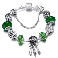 bracelet vert style Pandora