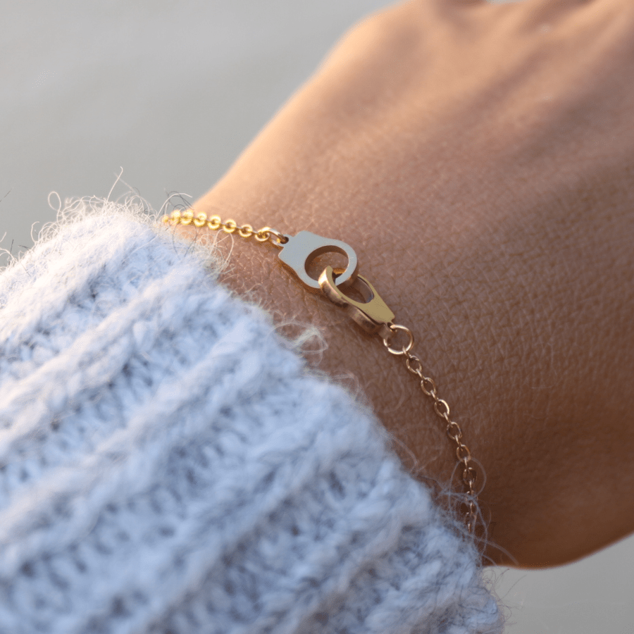 Bracelet Menottes Acier Inoxydable