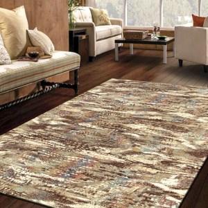 Alfombra de lana moderna para salón y pasillos Persia 882 Beig