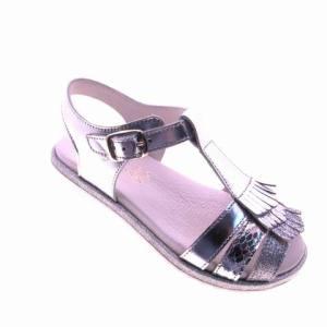 sandalia de niña en piel nacional mod:620
