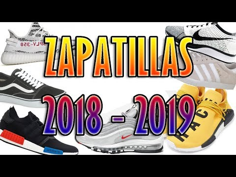 Zapatillas de MODA l Temporada 2018 – 2019 l StreetWear & Casual [Hombre/Mujer]