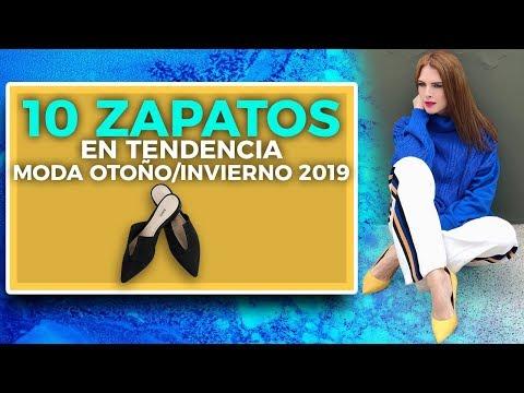 10 TENDENCIAS DE ZAPATOS OTOÑO-INVIERNO 2019 QUE DEBES TENER
