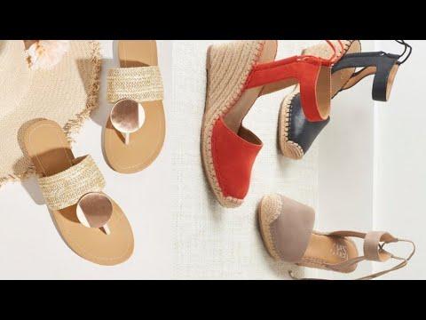 Calzado 2020 Sandalias, Cuñas, Alpargatas Tendencia 2020 Sandalias Planas, Alpargatas de Moda
