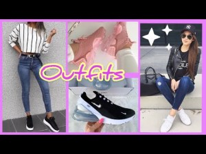 OUTFITS CASUALES CON TENIS | Zapatillas de Moda 2019 2020 | Nike, Adidas | Tendencias de MODA JEANS