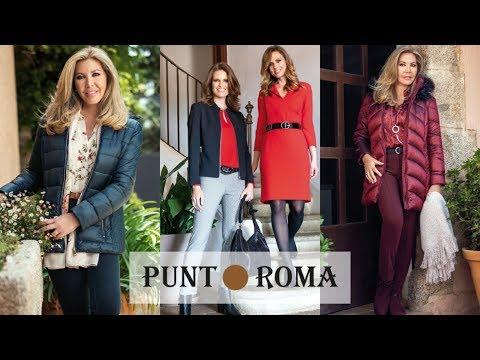 Moda Punt Roma   Nueva Colección Otoño Invierno 2019 2020   Tendencias para Mujer de 50 años o más