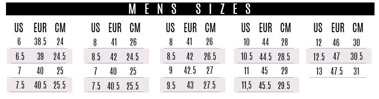 2fbd409e en talla Colombiana, Realmente ese numero corresponde a la numeración  Europea ( EUR o FR ). A continuación el gráfico ilustrativo de las tallas  que usaremos ...