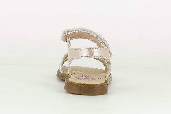 Sandalias niña piel 480478 beig Pablosky talón