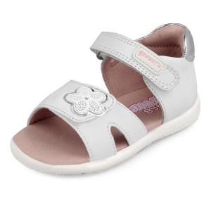 Sandalias bebé niña blanca Garvalin