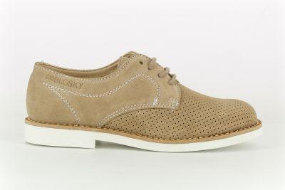 Zapato beig 718323 Pablosky lado