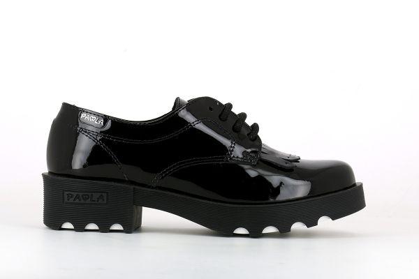 Zapato colegial Paola charol 846319 Pablosky lado