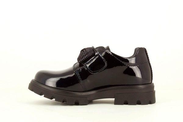 Zapato colegial charol marino 342429 Pablosky interior