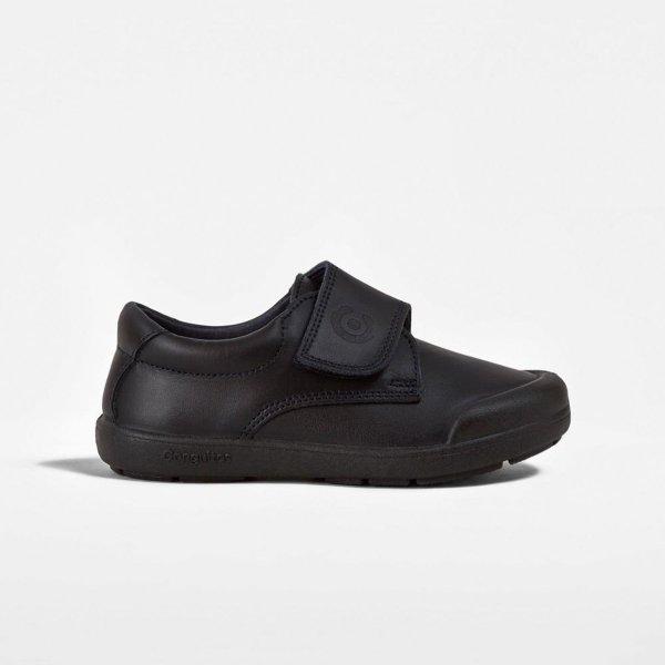 Zapatos colegial piel lavable Conguitos lado