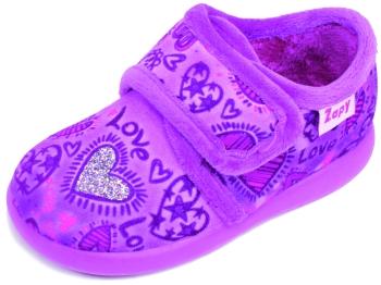 Zapatillas de casa para niña corazones Zapy