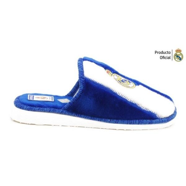 Zapatillas de casa Real Madrid lado