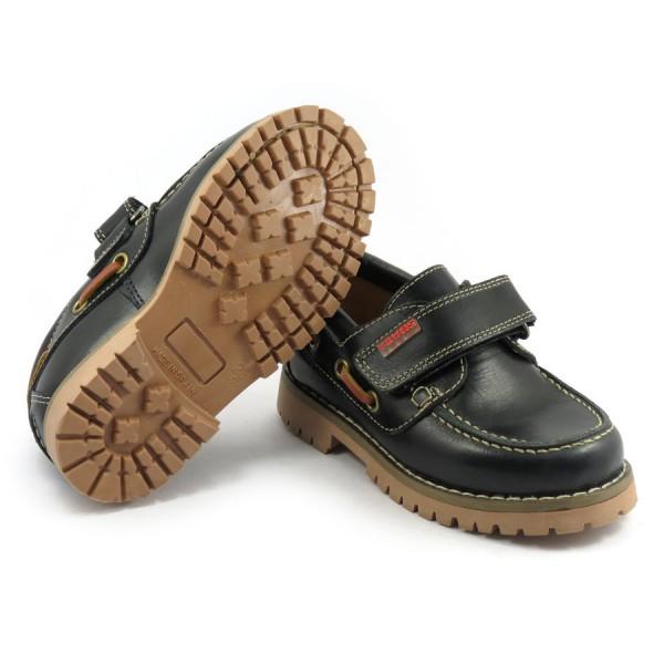 zapato unisex yowas marino velcro suela