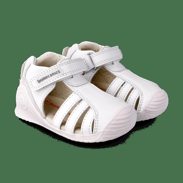Sandalia piel bebé Harper Biomecanics par