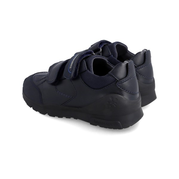 Zapato colegial piel Biomecanics niño marino 211103 talón