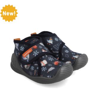 Zapatillas de casa Biomecanics azul niño 211165