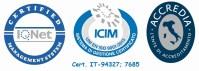 Marchi ICIM 9001 certificazione CALZATURIFICIO