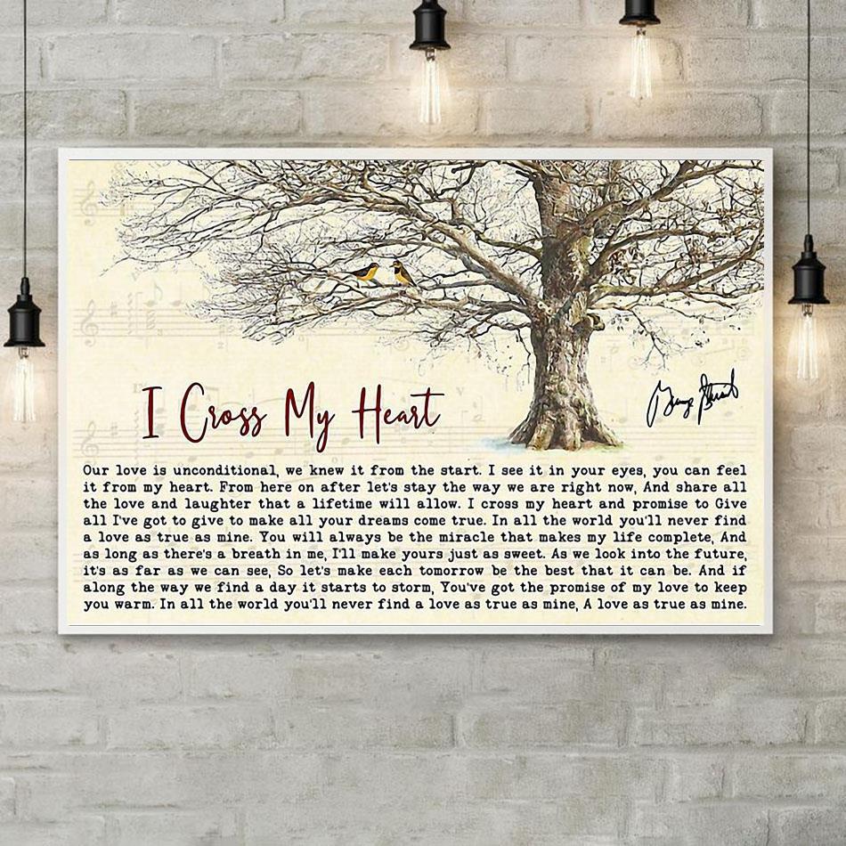 george strait i cross my heart