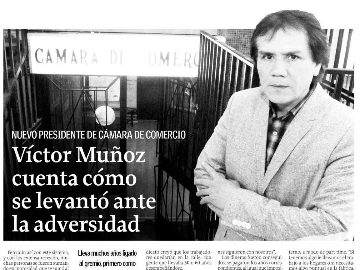 Victor Muñoz Cuenta Cómo Se Levantó Ante La Adversidad