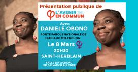 Affiche de la réunion publique à Saint-Herblain le 8 mars 2017