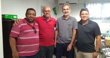 A Comissão de Controle Interno esteve em Reunião com a Controladoria Interna de Marabá