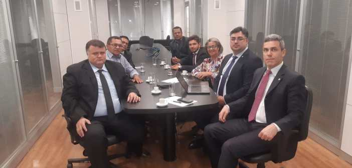 Vereadores no ministério do Desenvolvimento Regional de Brasília